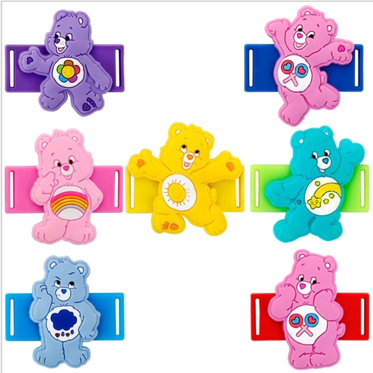 Care Bears Sports Shoes Accessories PVC Cloth Shoes Sneakers Shoelace Cartoon Gift For Kids