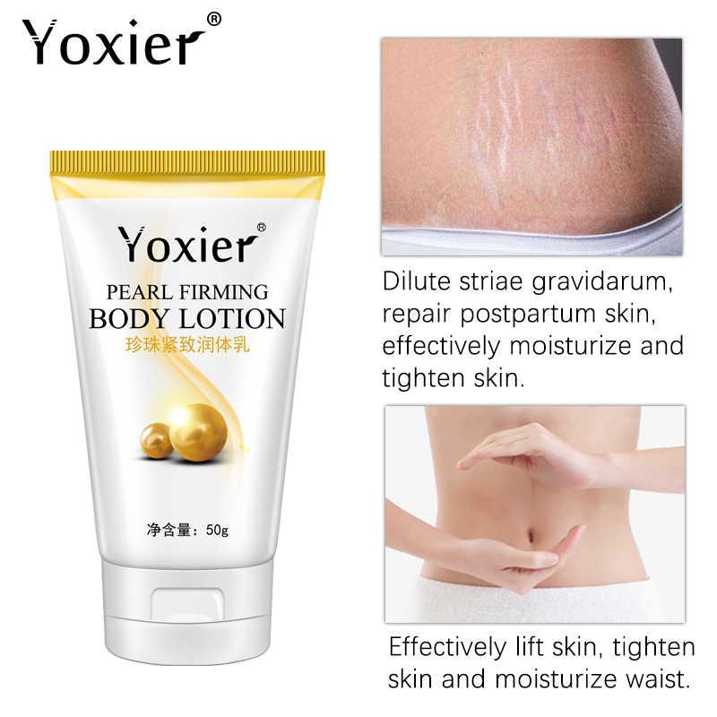 Yoxier Parel Verstevigende Bodylotion Afslanken Cellulitis Massage Verwijderen Striae Crème Behandeling Body Huidverzorging Gezondheid Lift Tool