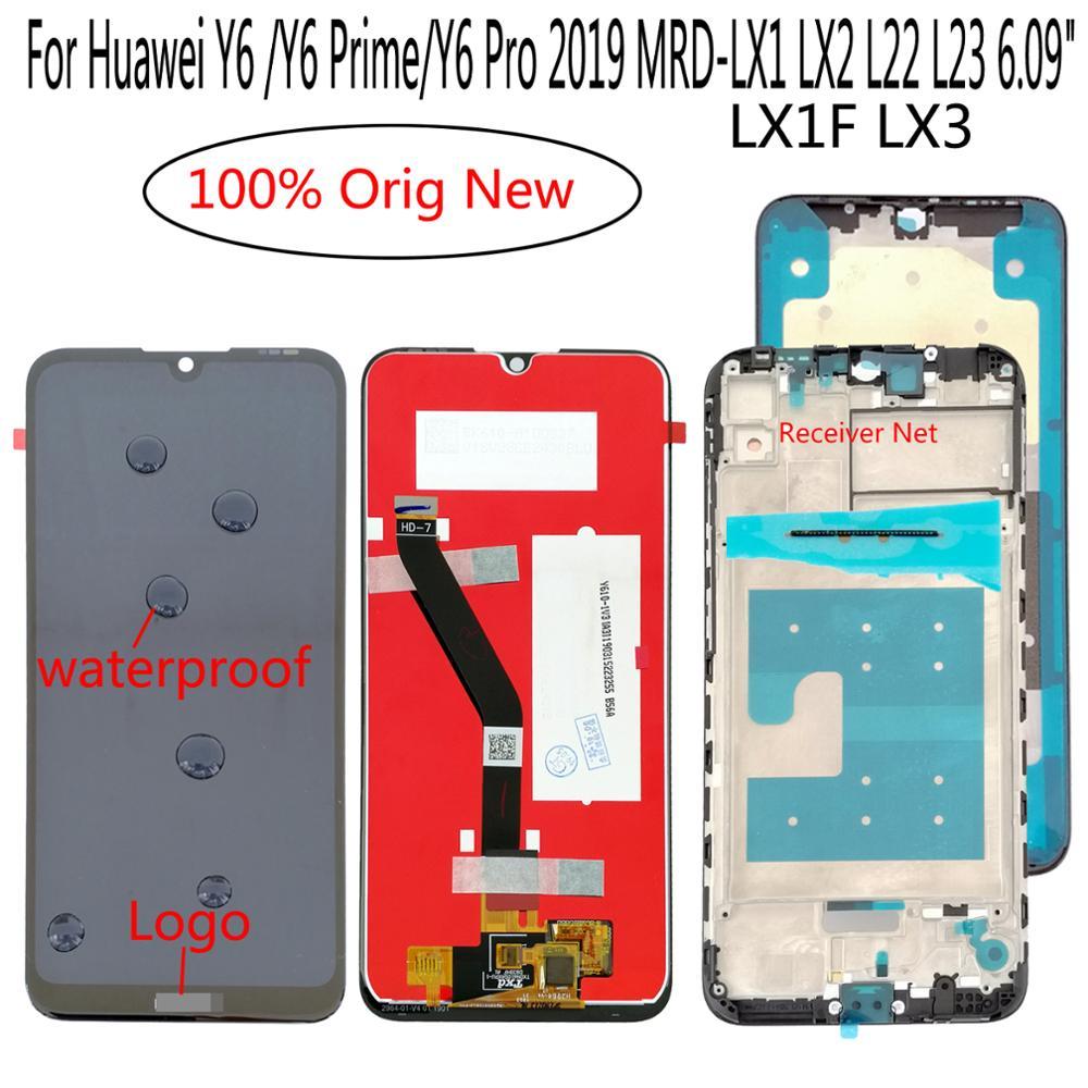 """פלאזמה Shyueda חדש 6.09"""" במשך 2019-LX1 MRD פרו Huawei Y6 / Y6 ראש / Y6 LX1F LX2 L22 L23 מסך מגע LCD Display (1)"""
