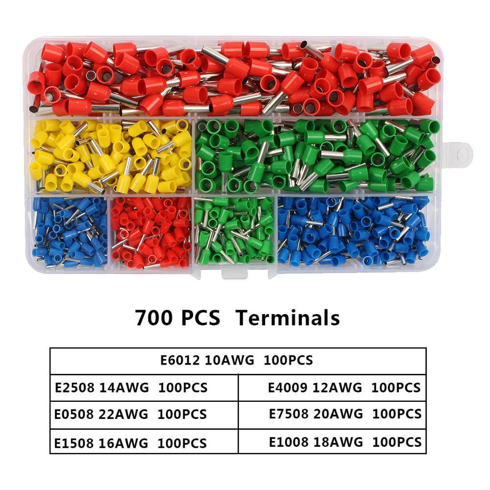 HSC8 6-6B HSC8 6-6A 自己調節可能な圧着プライヤー 0.25-6 ミリメートル端子圧着ツールマルチトップブランド HSC8 6-6 23-10AWG