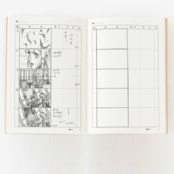 A4 Professional Animation Storyboard Template Sketchbook Notebook for Film Drawing Sketch and Plan Scenes Journal