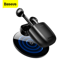 Baseus TWS W04 무선 블루투스 이어폰 헤드폰 핸즈프리 헤드셋 핸즈프리 진정한 무선 이어 버드 화웨이 xiaomi 전화