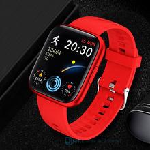 2021 Smart Watch Women Men Smartwatch Health Fitness Tracker Heart Rate Monitor Sports Waterproof Bracelet For Android IOS Hours