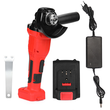 Angle-Grinder Power-Tool Polisher Cutting-Machine Cordless 125mm Variable-Speed DIY Impact