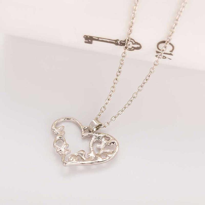 """Mãe e criança amor """"mãe"""" pingente de cristal colar presentes do dia das mães camisola corrente colar para mulher moda jewery"""