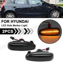 2X עבור יונדאי i30 Azera Elantra Avante Kia פרו cee d Rio III Hatchback סלון LED צד מרקר אור תור אות מחוון מנורה