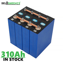 In stock CATL 310AH LiFePO4 battery 12V 24V Battery Pack for RV Scooter Rechargeable Battery EV Free Busbars DDP