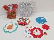 7pçs nova forma de corte de metal estênceis para scrapbooking álamo de fotos decorativas gravando cartões de papel
