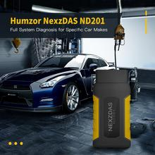 Humzor NexzDAS ND201 Full-System Diagnostic Tool OBD2 Scanner for Single Car Manufacturer with ABS, TPMS, DPF...
