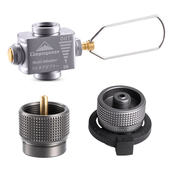 Gas Stove Adapter Gas Saver Plus with Butane Adapter Gas Adapter Camping Stove Refill Adapter for Camping Backpacking Hiking