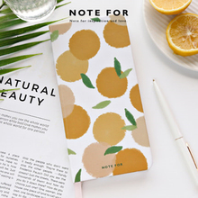ERAL traveler's  notebook 2020 orange week. Many color hand-painted covers.Weekly plan notebook. 39 weeks, Increase work efficie
