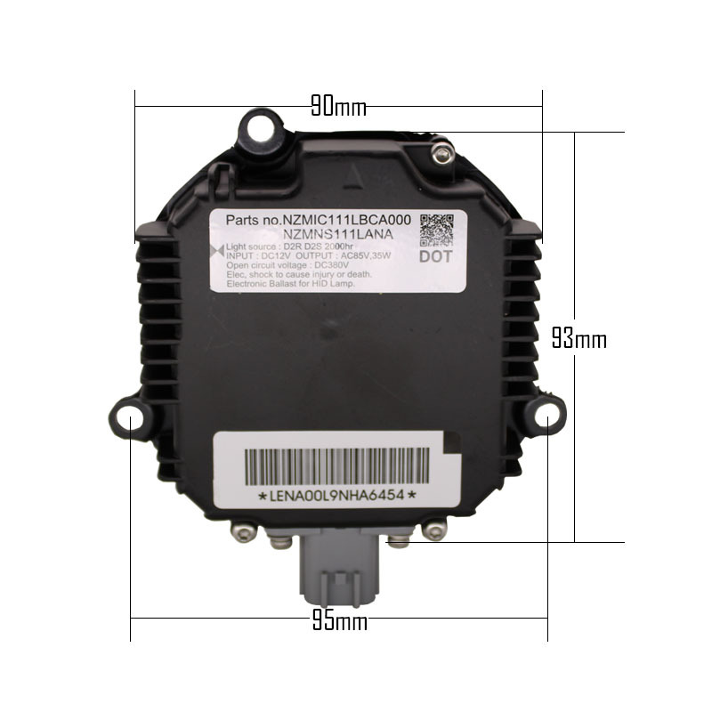 Replacement Xenon Hid Ballast Lighting Electric Spare Part D2S D2R For Lexus