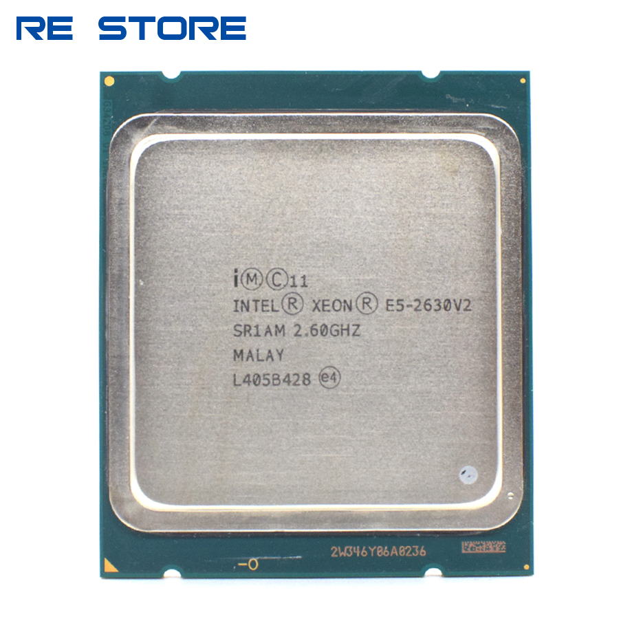 used Intel Xeon E5 2630 V2 Server processor SR1AM 2.6GHz 6 Core 15M LGA2011 CPU|CPUs| - AliExpress