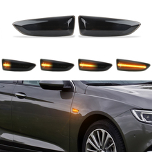 Dynamic LED Side Marker Blinker Turn Signal Light For For Opel For Vauxhall Astra J K Crossland X Grandland Insignia B Zafira C