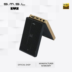 Clearance SMSL IQ USB HI-RES headphone Amplifier with DAC DSD512 PCM 768kHZ built in chargeable battery 2.5mm and 3.5mm output