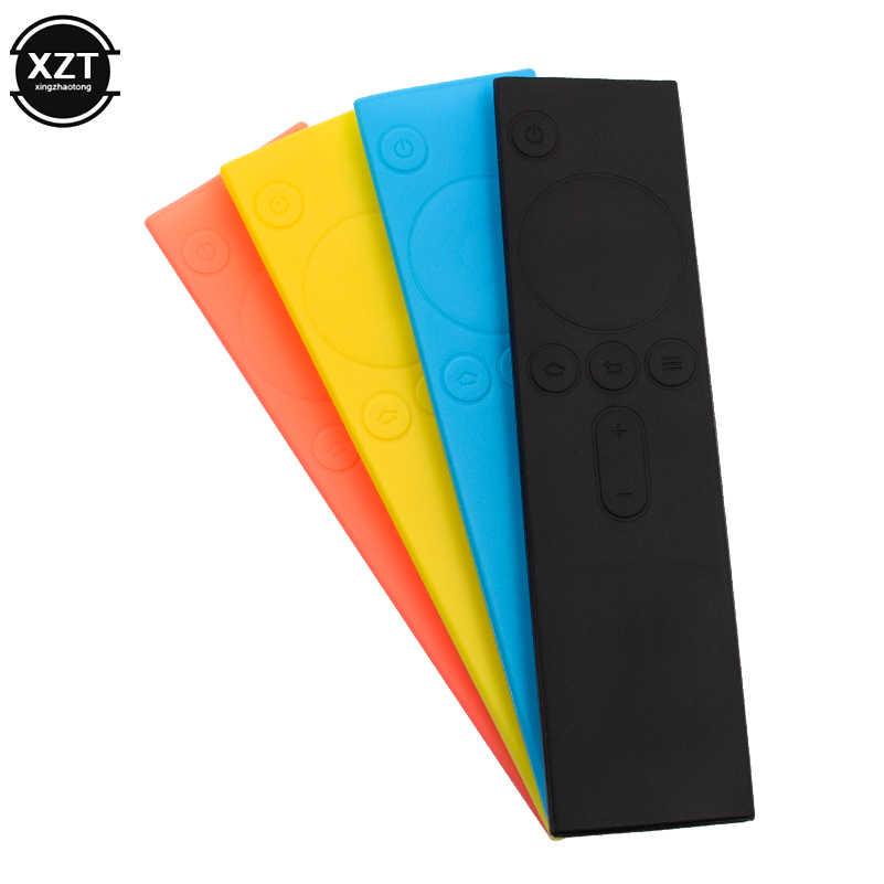 Zachte Siliconen TPU Beschermende Afstandsbediening Case Kleurrijke Rubber Modieuze Cover Case voor Xiao mi afstandsbediening Mi tv box