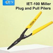 Importado IET-100 miller plug and pull pilers conector de fibra óptica plug e braçadeira puxar ferramenta