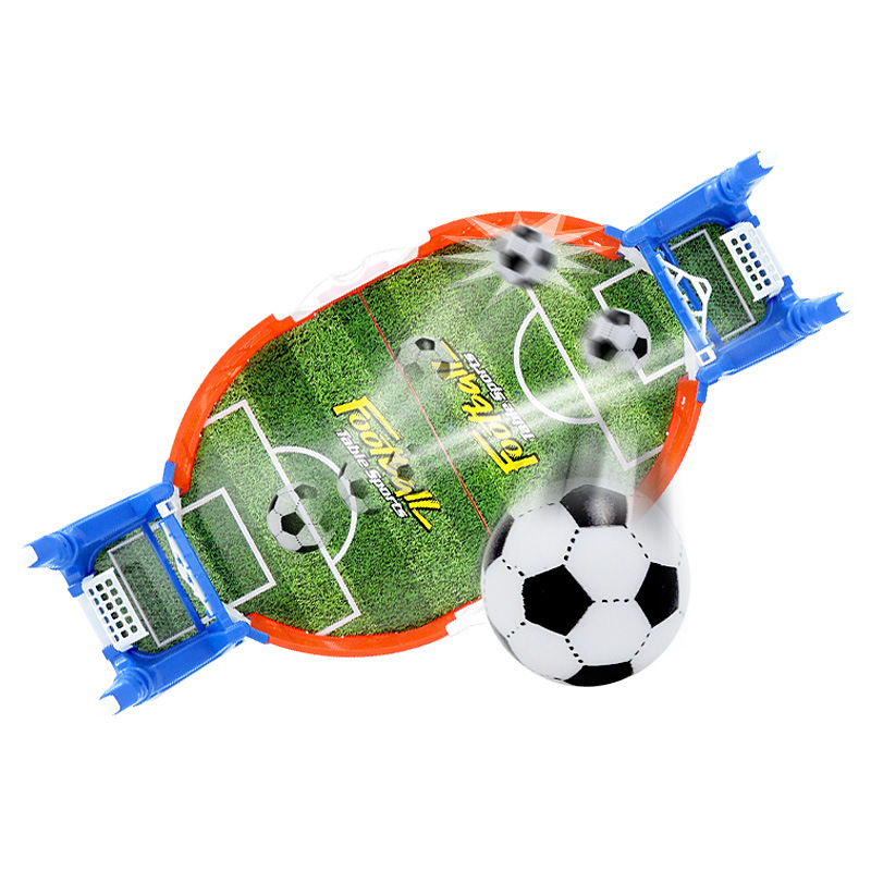 Mini Table Sports Football Soccer Arcade Party Games Double Battle Interactive Toys for Children Kids Adults 2