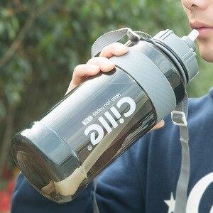 Image 4 - Bouteille deau pour sportifs et les voyages à grande capacité, sans BPA, pour le sport, pour les voyages, lescalade, la randonnée, offre spéciale