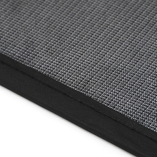 Visor Sunshade Shield Side-Mesh-Cover Car-Window Black 44x36-Cm 2pcs