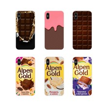 Alenka Alpen Gold Chocolate For Huawei Honor 4C 5C 6X 7 7A 7C 8 9 10 8C 8S 8X 9X 10I 20 Lite Pro Accessories Phone Shell Covers(China)
