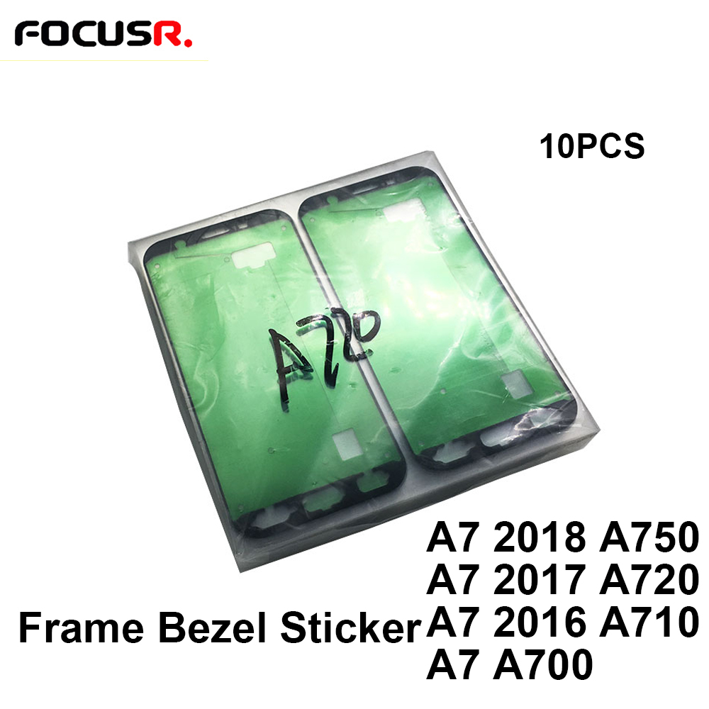 Original <font><b>LCD</b></font> Screen Front Glass Cover Frame Bezel Sticker Adhesive Frame Glue For <font><b>Samsung</b></font> A7 2016 2017 2018 A700 A710 <font><b>A720</b></font> A750 image
