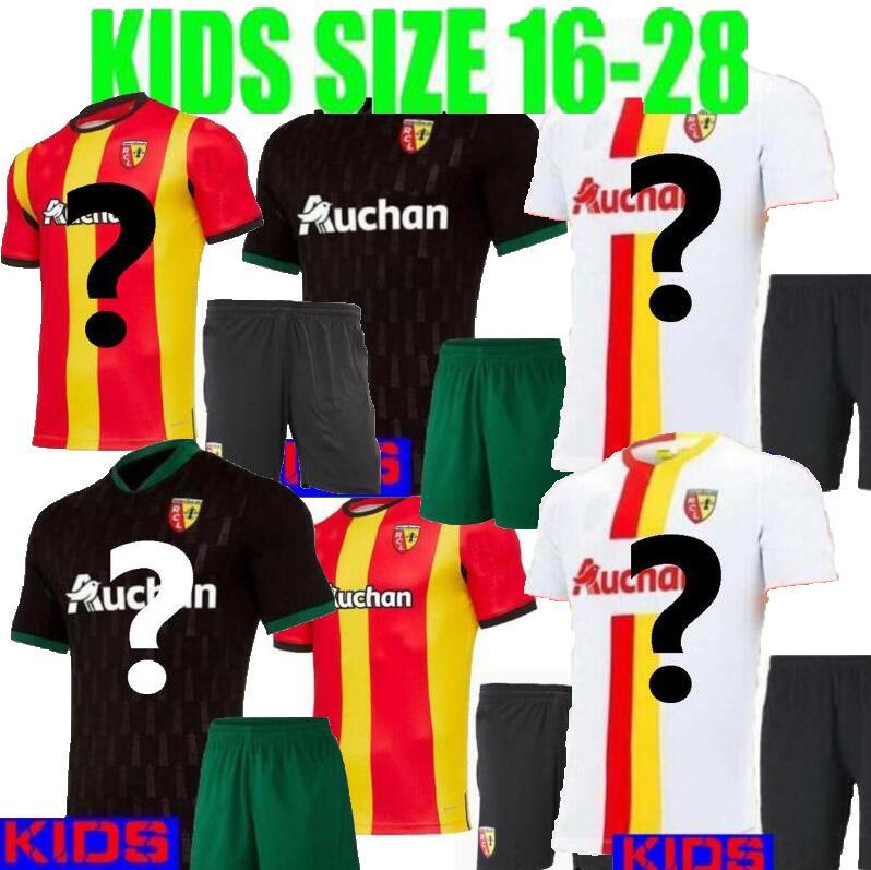 Kids Rc Lens Away Soccer Jerseys Gradit Fortes Cahuzac Perez 2020 2021 Rc Lens Maillot De Foot Camisa De Futebol Men S Football T Shirts Aliexpress