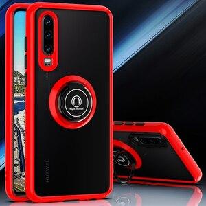 Защитный чехол для объектива телефона Huawei P40 P30 P20 Lite Mate 30 20 Lite Y9 Y7 2019 P Smart 2019 Nova 5t 7 Полупрозрачный матовый чехол