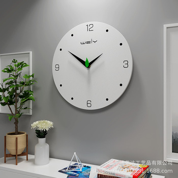 New Creative Personality Living Room Bedroom Wall Watch Fashion Simple Mute Home Decor Wooden Wall Clock Brief Wall Clocks