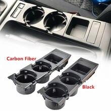 Автомобильная черная центральная консоль держатель стакана для воды держатель для бутылки для напитков монетница для Bmw 3 серии E46 323i 318I 320I ...