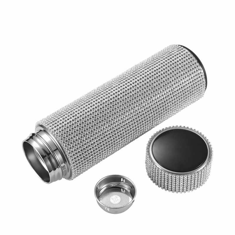 Creative Diamond Thermos Bottle Water Bottle Stainless Steel Smart  Temperature Display Vacuum Flask Mug Gift for Men Women|Vacuum Flasks &  Thermoses| - AliExpress