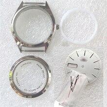8200時計のムーブメント36ミリメートルスチールの時計ケースカバーキット時計修理部品