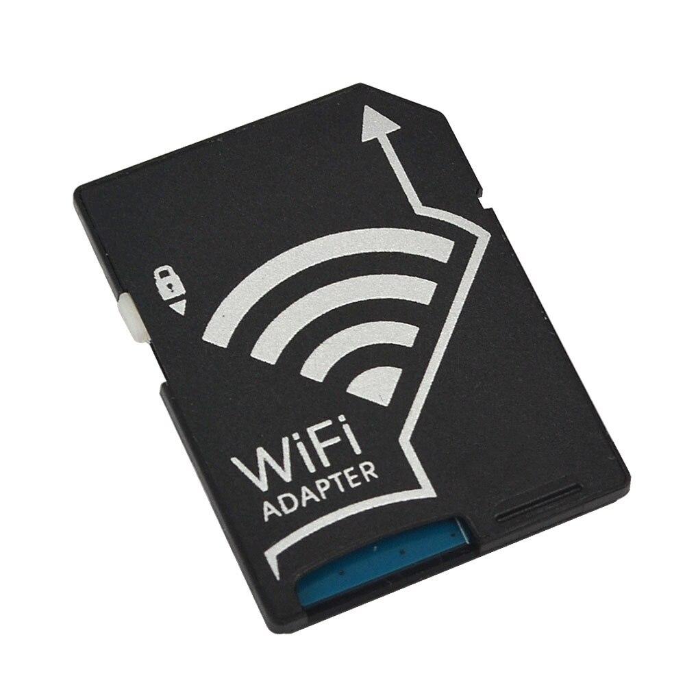 Adaptador de tarjeta SD Wifi para Micro SD conversor TF para cámaras SONY Canon Nikon fotos de forma inalámbrica a tabletas de teléfono