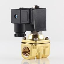 1/4 3/8 1/2 NPT or G thread Direct Acting Solenoid Valve,20Bar Normally closed water air valves, AC 110V 220V DC 12V 24V 48V цена