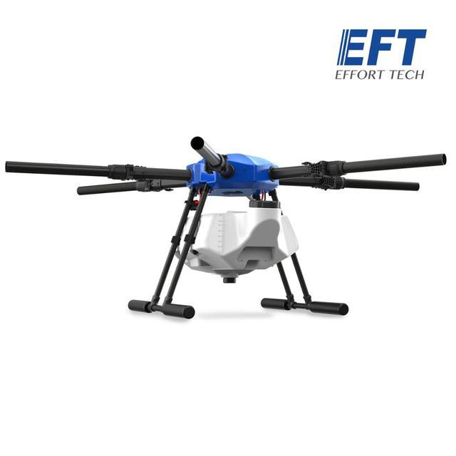EFT E616S 16L الزراعية طائرة دون طيار للرش E616 616S 16 كجم للطي إطار قاعدة العجلات فرش مضخة مياه رذاذ X8 نظام الطاقة عدة 3