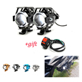 Универсальный мотоцикл фары лампы U5 Светодиодный прожектор Вспышка 12 В подходит для BMW F700GS F800 R1200 GS Приключения