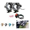 Universal Motorrad Motorrad Scheinwerfer Lampen Lampe U5 Led strahler Flash 12V Fit Für BMW F700GS F800 R1200 GS Abenteuer auf