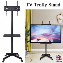 Universal TV Cart Free Lifting 23-55 LED LCD Plasma TV Trolley Stand with Mobile Wheels Home TV Holder Display Shelf tv ceiling display hanger lift manual lifting 14 32 45 50 55 inch 65 70 inchs universal tilting and fixing plasma lcd led ultra