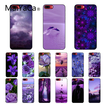 infinity on Purple Phone Accessories Case for iPhone 11 Pro XS MAX XS XR 8 7 6 Plus 5 5S SE12 mini 12PRO Max image