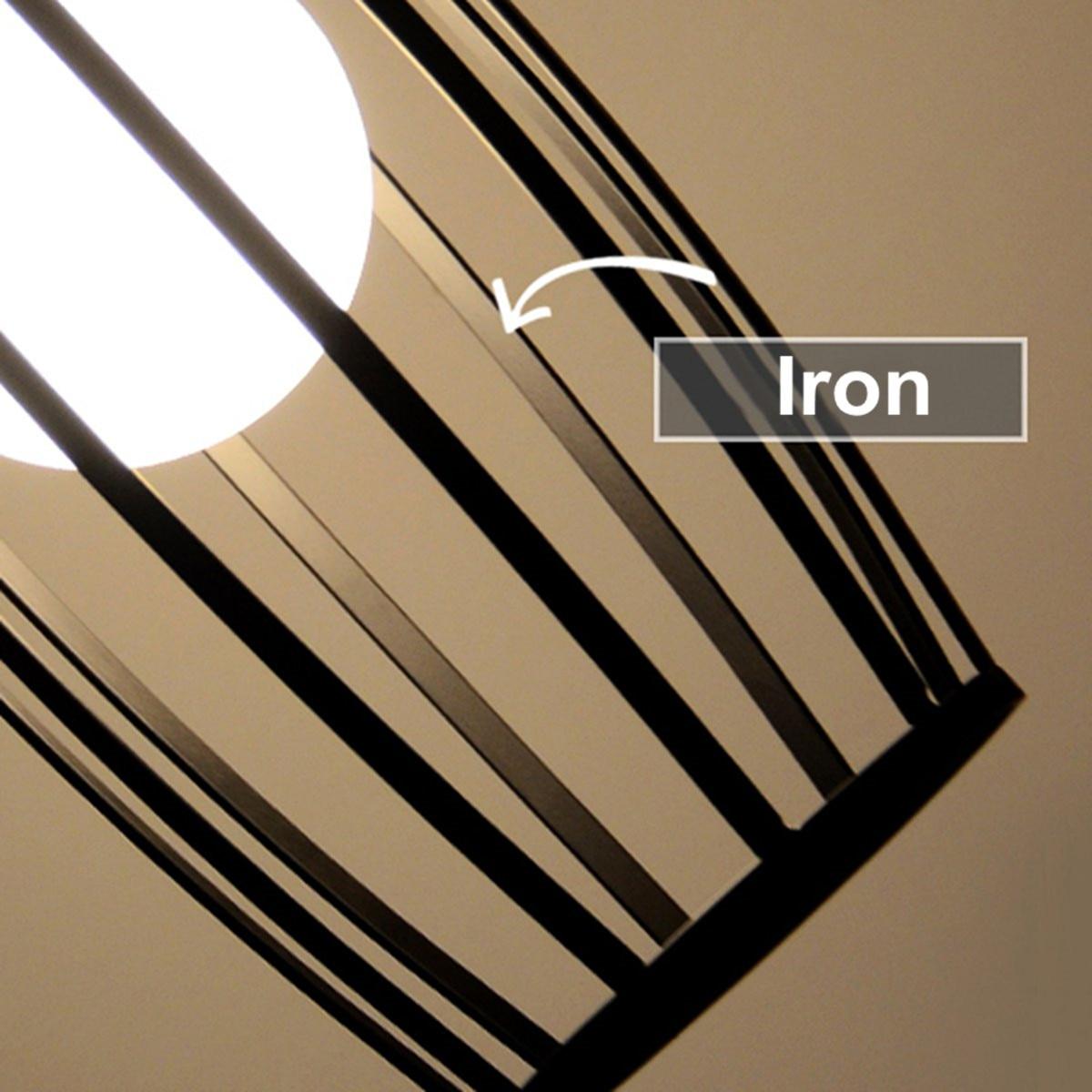 Vintage suspension Loft éclairage cuisine barre plafonnier luminaires salle à manger boutique barre décoration suspension - 5
