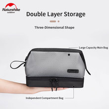 Cosmetic-Bag Naturehike Travel Dry Outdoor Waterproof Portable 4L Wet-Separation Business
