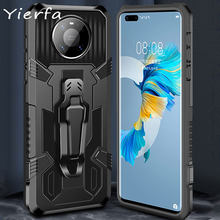 Shell For Huawei Mate 40 30 Pro Case Magnetic stand Cover Hard PC Shockproof Phone Case ForHuawei P30 P40 Pro Lite E Back Cover