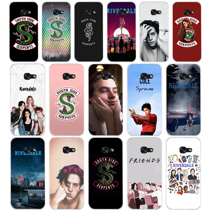 315FG <font><b>Riverdale</b></font> South Side Serpents Weiche Silikon Tpu Abdeckung telefon Fall für <font><b>Samsung</b></font> a3 2016 a5 2017 a6 plus a7 a8 2018 s6 7 8 9 image