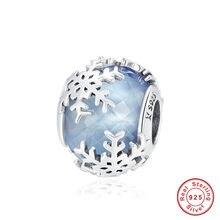 Breloque de perles en argent sterling 100% pour femmes, nouveau, 925, adapté, original, bracelet ou collier, cadeau, bijoux, bricolage
