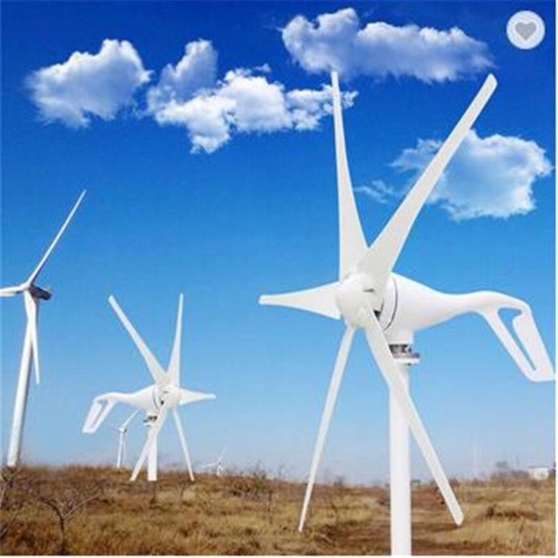 2019 petit générateur d'éolienne à la maison adapté pour les lampadaires, la surveillance et les bateaux, contrôleur de vent 600W gratuit