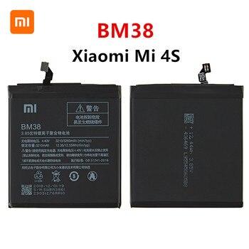 Xiao mi 100% Orginal BM38 3260mAh Battery For Xiaomi 4S Mi 4S Mi4S BM38 High Quality Phone Replacement Batteries goowiiz розовый mi 4s