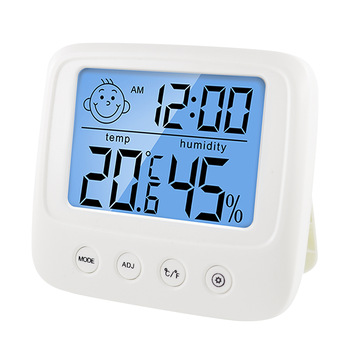 Digital LCD Indoor Convenient Temperature Sensor Humidity Meter Thermometer Hygrometer Gauge 1