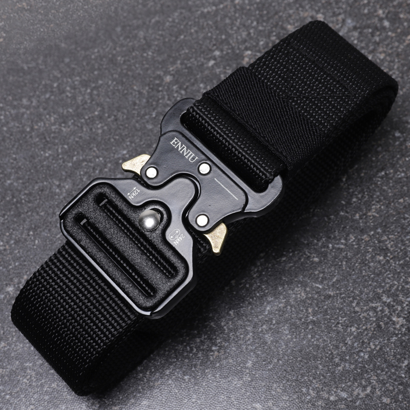 Accesorios Policia Outdoor Training Belts Special Forces Combat Belt Canvas Frog Suit Tactical Equipment Military Accessories 2