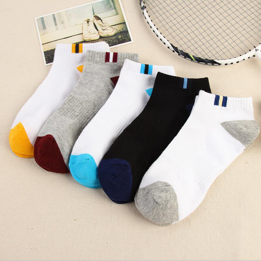 Cotton Socks Men Thin Cycling Socks Professional Low Ankle Socks Sport Athletic Socks Women Sock Sneaker Basketball Socks Men