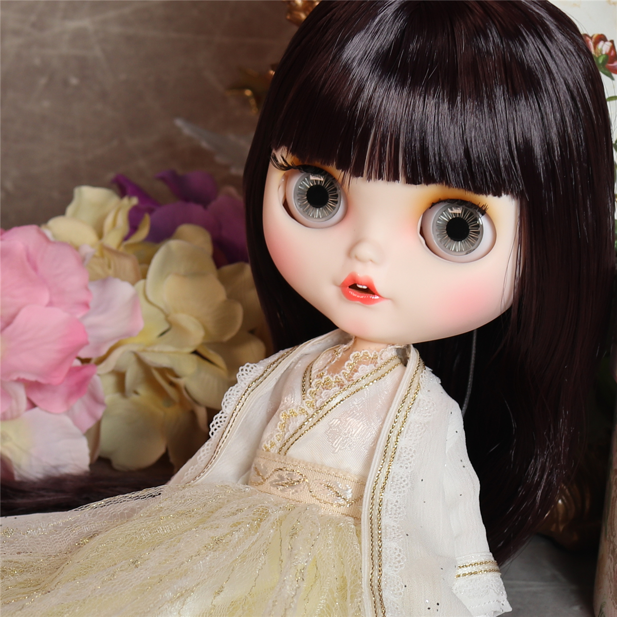 Jacey – Premium Custom Blythe Doll with Smiling Face 2